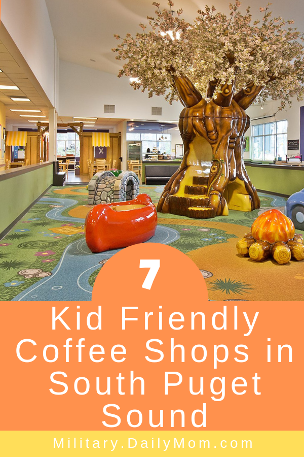 7 kid friendly coffee shops in south puget sound