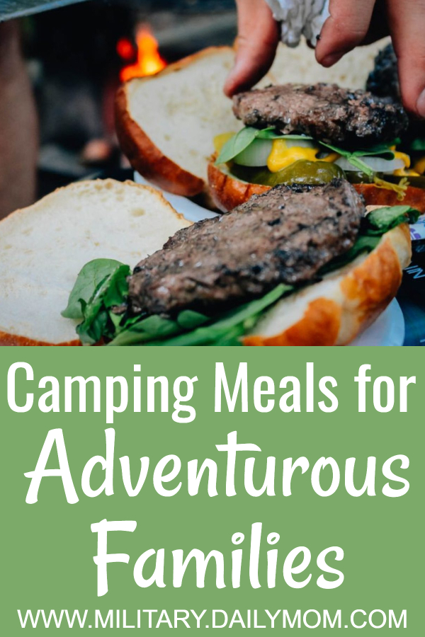 camping meals for adventurous families