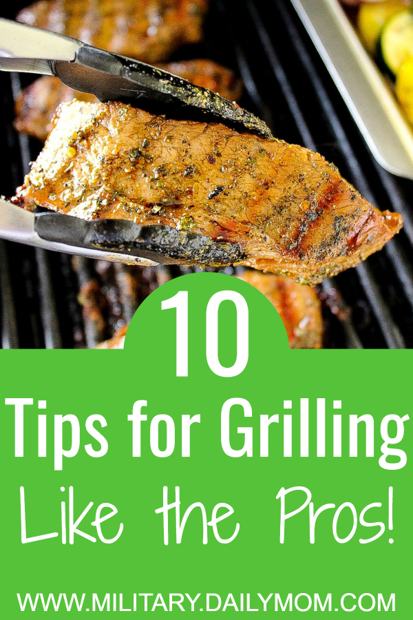 ten tips for grilling like a professional