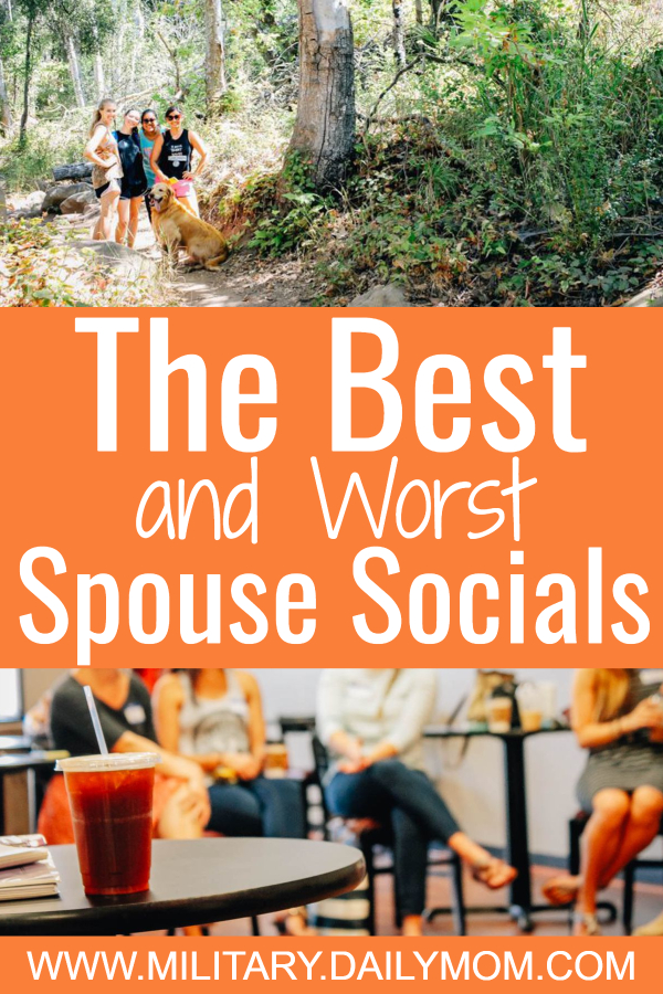 the best and worst military spouse socials