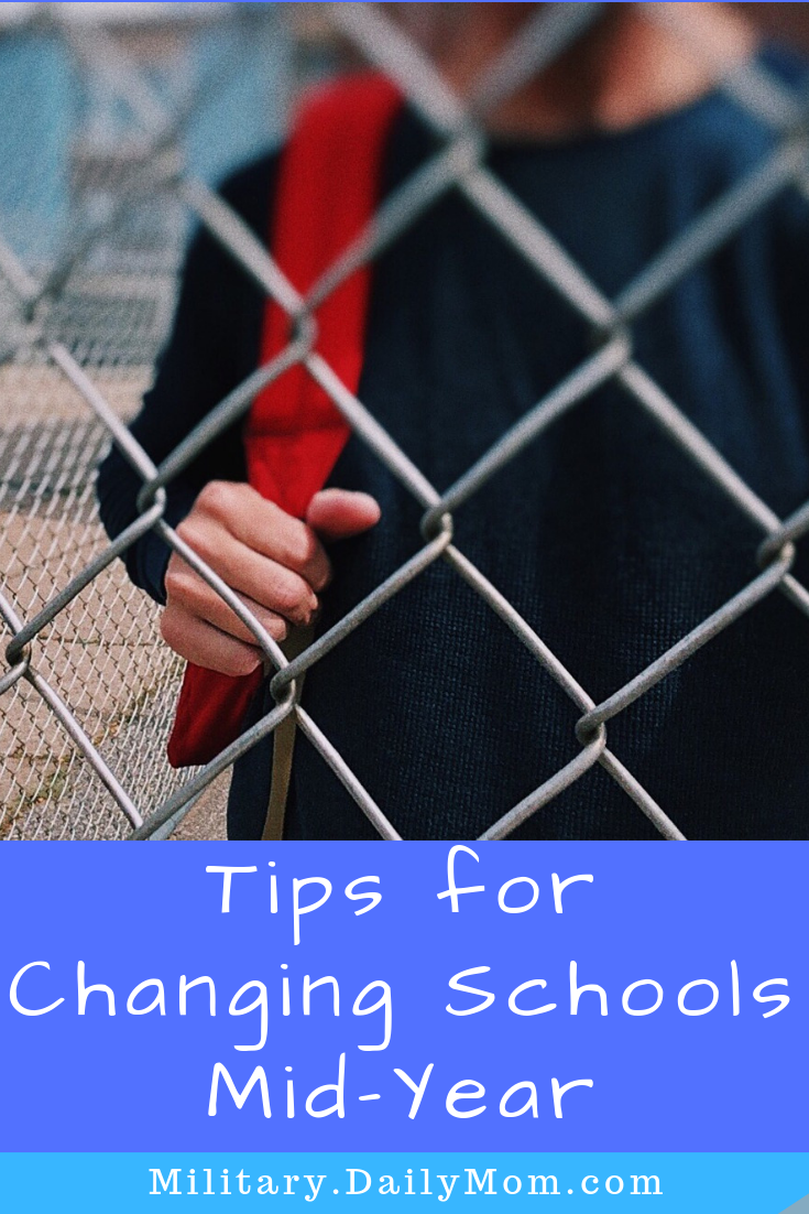 tips for changing schools mid year