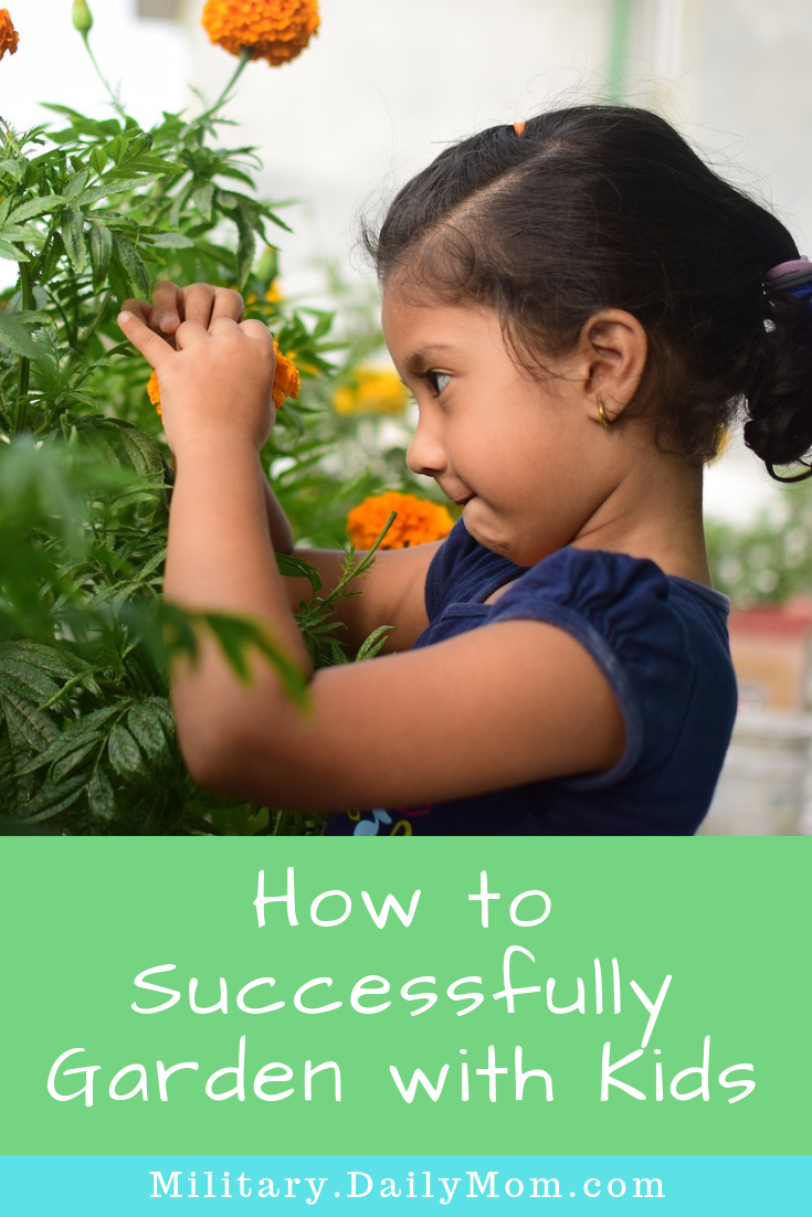 how to successfully garden with kids