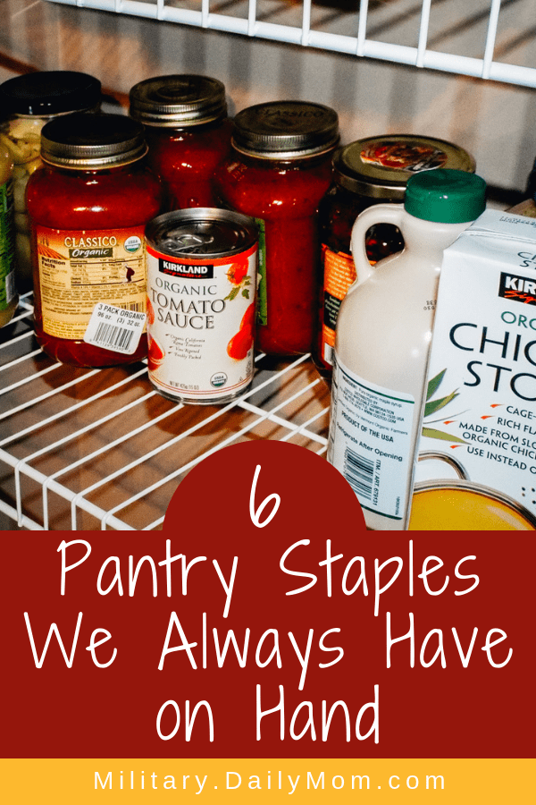 Pantry Staples We Always Have On Hand