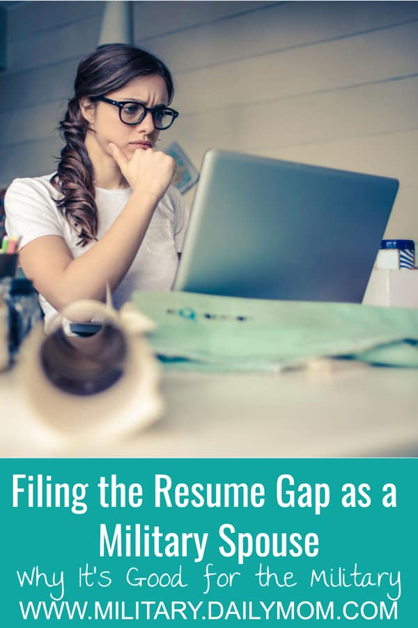 Why Closing The Resume Gap For Military Spouses Is Good For The Military
