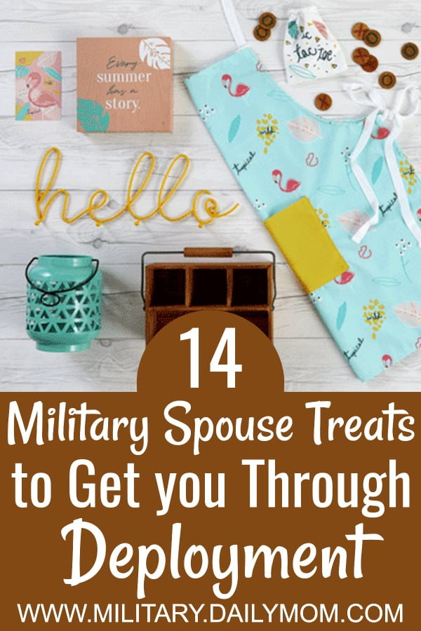 14 Military Spouse Treats To Get You Through Deployment