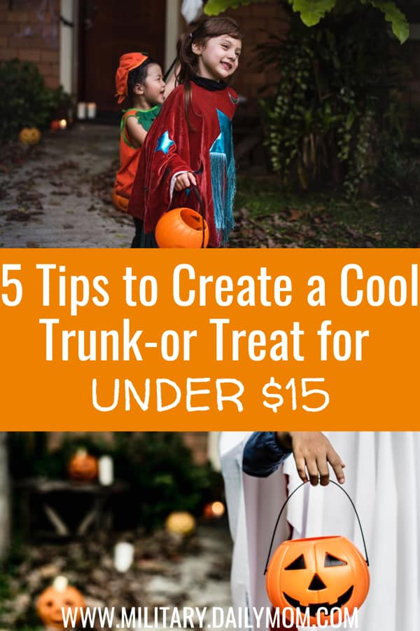 Trunk Or Treat Ideas For Under $15