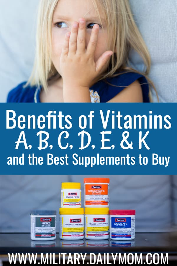 The Benefits Of Vitamins A, B, C, D, E, K And Why You Should Have Them On Stock This Fall