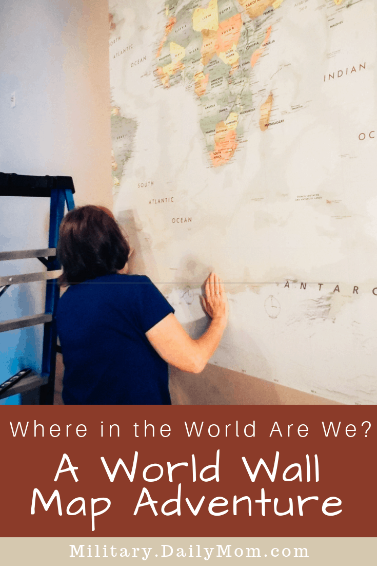 Where In The World Are We A World Wall Map Adventure