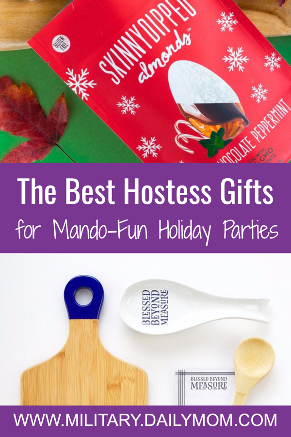 10 Hostess Gifts For All Those Mando-fun Holiday Parties