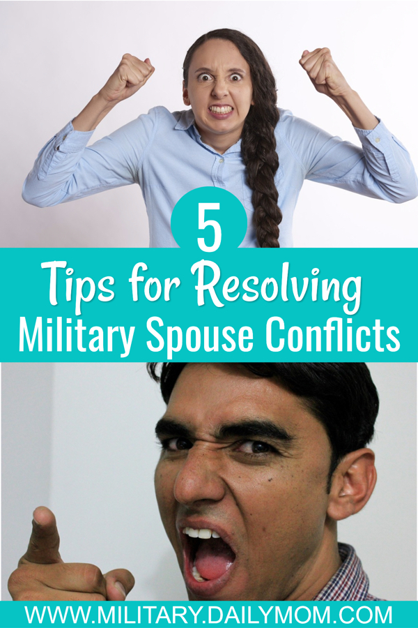 5 Milspouse Conflict Resolution Tips military spouse conflict resolution