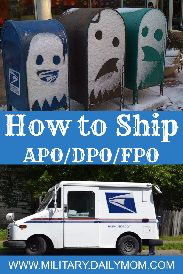 The Truth About Shipping To Apo/dpo/fpo Addresses