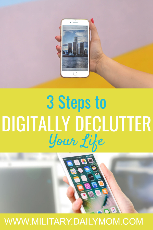 Digitally Declutter Your Life