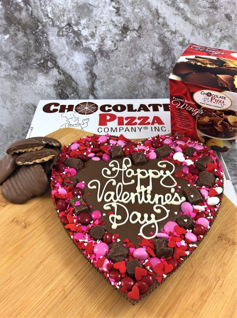 Valentine's Day Giveaway Day 1: Chocolate Pizza