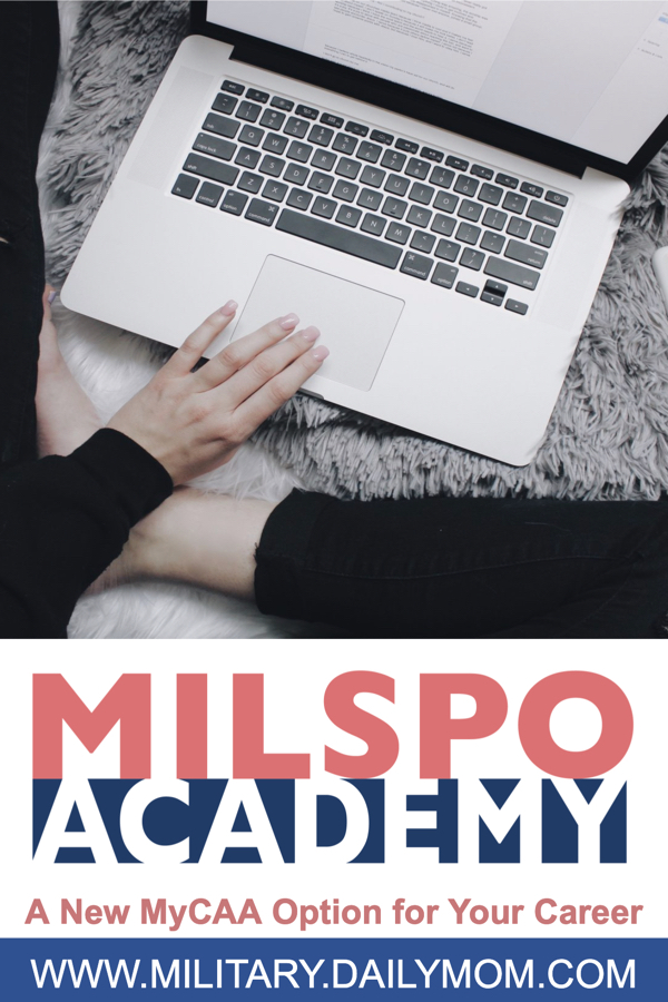 An Alternative Mycaa Option: Put Your Military Spouse Career In Your Own Hands With Milspo Academy