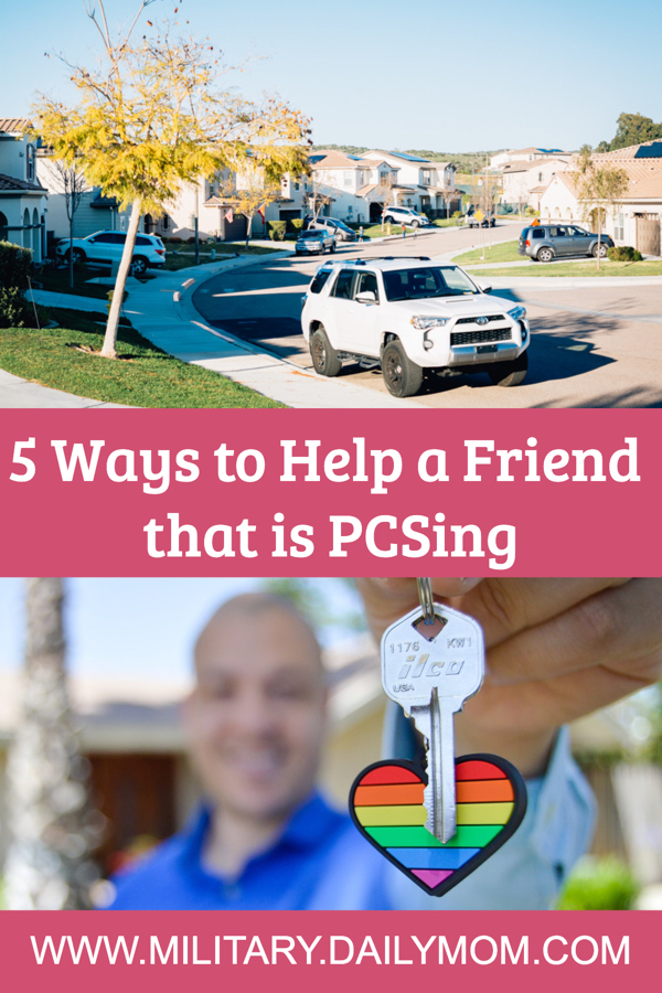 How To Help A Friend Who Is Pcsing