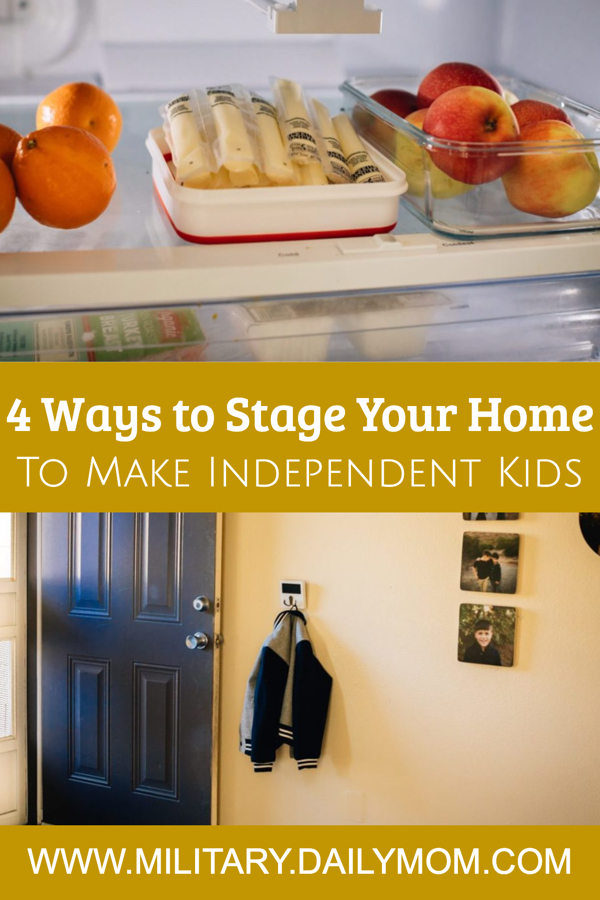 4 Ways Your Home Can Help You Raise Independent Kids