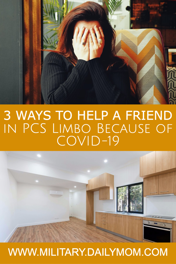 3 Ways To Ease The Stress Of A Friend In Pcs Limbo
